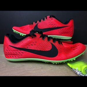 Nike Zoom Victory 3 Red Distance Track Spikes